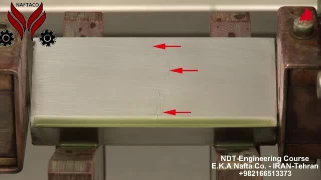 تست ذرات مغناطیسی MT- شرکت مهندسی نفتاکیفیت آزما