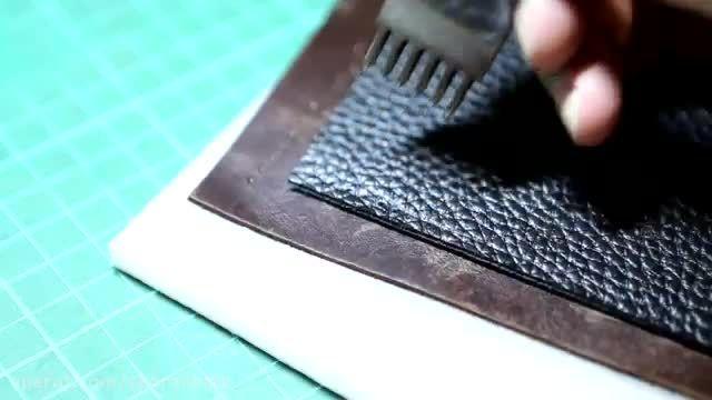 آموزش ساخت کیف دوشی چرمی بسیار زیبا