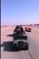نیروهای تازه نفس گردان طلائی ارتش عراق در راه الرمادی