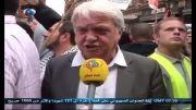 تظاهرات گسترده انگلیسیها در حمایت از غزه