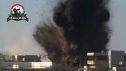 درعا سوریه: بمباران مواضع مزدوران توسط جنگنده های ارتش سوریه