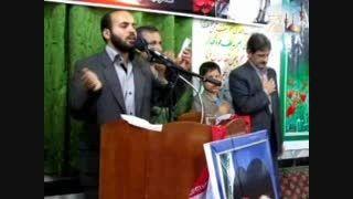 مراسم رحلت امام خمینی92 ریکنده - کربلایی حسن رستمی