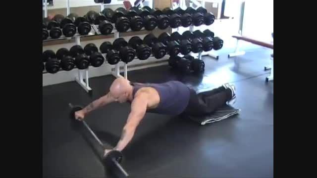 تمرینی دیگر برای تقویت عضلات شکم