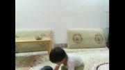 کودکی رضازاده (محمد طه میرزایی) وزنه بردار سبزواری - جالب