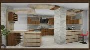 طراحی دکوراسیون داخلی و طراحی کابینت آشپزخانه