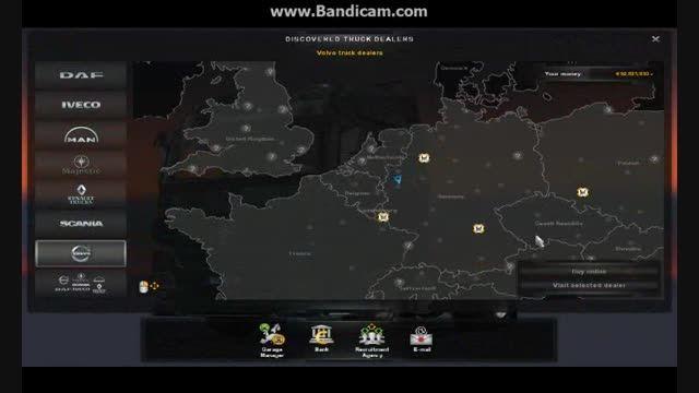 کلیپ تست اتوبوس ولوو B9 برای بازی EuroTruckSimulator 2