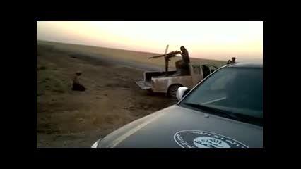 کشته شدن فجیع فردی به دست داعش