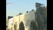 خطر ریزش دیوار در محل حادثه سقوط هواپیما!