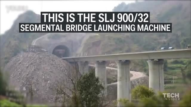 چگونه پل ها در چین ساخته می شوند؟