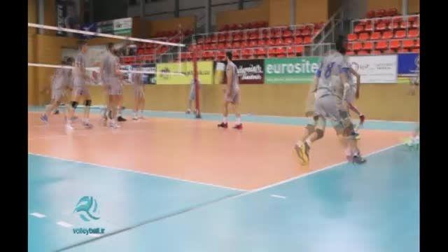 تمرینات ملی پوشان والیبال در اردوی چک
