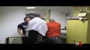 مربی عصبانی داخل رختکن :)