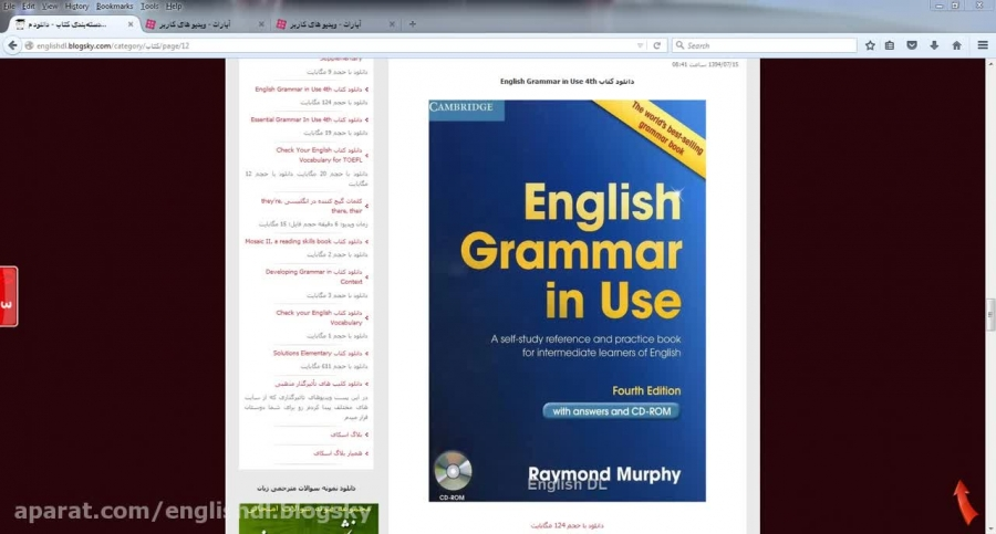 essential grammar in use 3th pdf