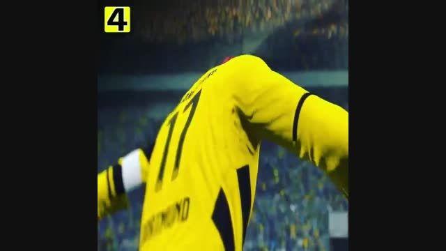 شادی های عجیب و واقعی بعد از گل در FIFA 16