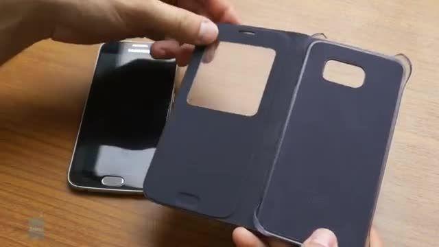 با View Cover اصلی Galaxy S6 از نزدیک آشنا شوید