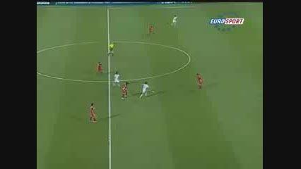 گل فوق العاده زیبا در فوتبال زنان