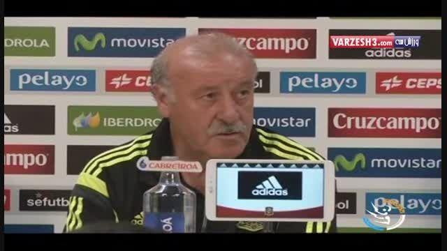 دل بوسکه: رافائل بنیتز بهترین گزینه برای رئال مادرید