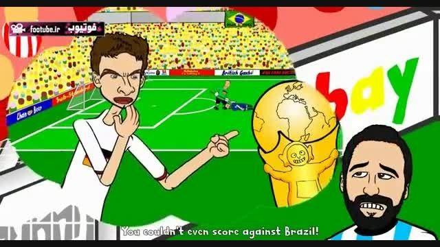 انیمیشن طنز فینال کوپا آمه ریکا ۲۰۱۵