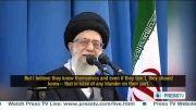 امام خامنه ای:پاسخ كوبنده  و ویرانگر ایران در پاسخ به هر تجاوز احتمالی