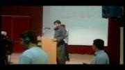 سخنان جالب دانشجوی کرد خطاب به محمدرضا عارف