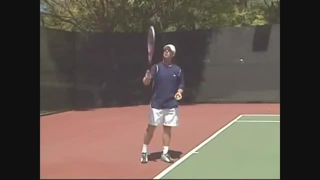 چطور تنیس بازی کنیم درس سوم