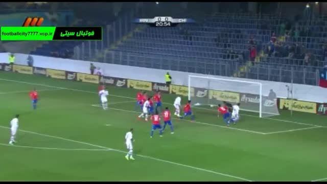 خلاصه بازی ایران 2 - 0 شیلی (دیدار دوستانه)