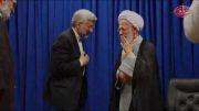 کلیپ دیدار سعید جلیلی با آیت الله جوادی آملی