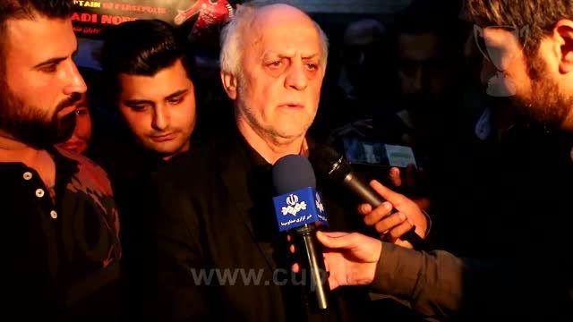 واکنش خوردبین به درگذشت ناگهانی هادی نوروزی