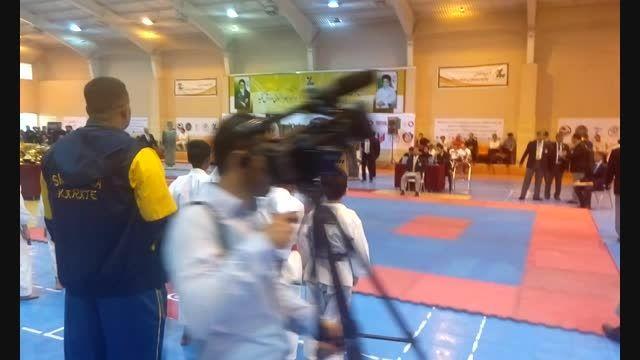 امیرحسین خاکپور کاتای امپی در مسابقات جهانی