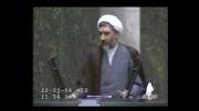 پاسخ وزیرکشور به سوال اکبر اعلمی درمورد حوادث 85 آذربایجان-2