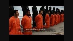 سربریدن 21 مصری توسط گروه وحشی داعش..