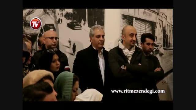 مهران مدیری و پیمان قاسم خانی در مهمانی هنری رضا یزدانی