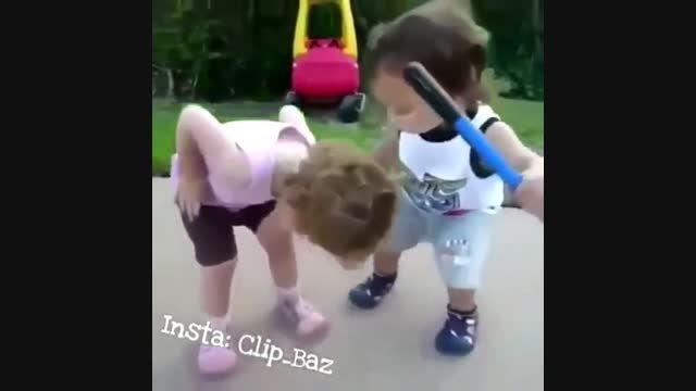 محبت کردن بچه...
