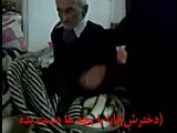 پدر شهید محمد نیکنام در بستر بیماری