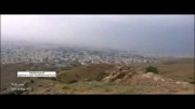 لحظه ورود طوفان شن شدید به تهران