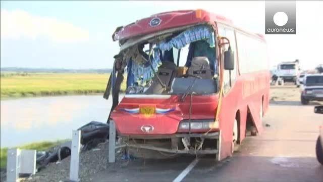 تصادف مرگبار دو دستگاه اتوبوس در شرق روسیه