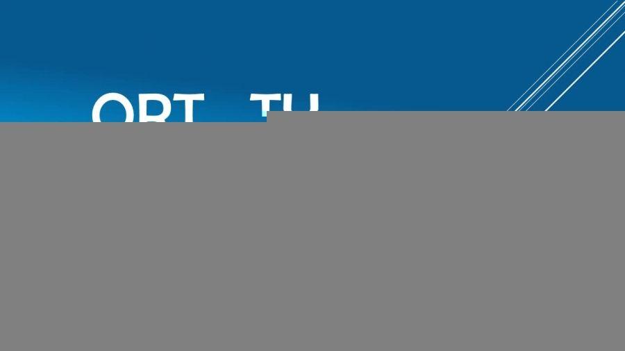 کانال تلگرام شرکت ORT