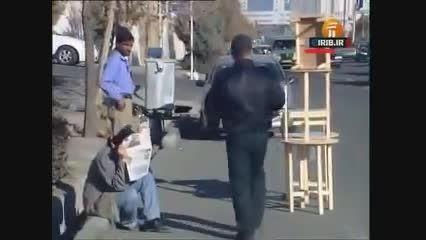 دوربین مخفی ایرانی خنده دار- قاتل فراری