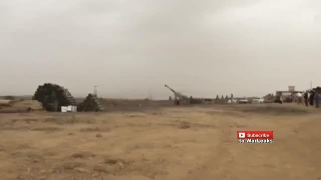 شلیک اولین گلوله های توپخانه سعودی به یمن
