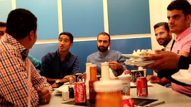میثم مجیدی و محسن کریمی میهمان کمیته مشوقین استقلال