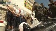 سوریه- ارتش سوریه -دستگیری و پاکسازی مناطق بازپس گرفته شده و برخورد خوب مردم با ارتشیان سوریه