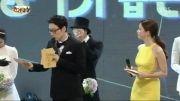 جایزه محبوب ترین بازیگر❤LeeMinho-2013 SBS Red carpet