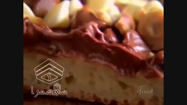 روش تهیه پیتزای شکلاتی شیرین