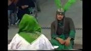 تعزیه علی اکبر خوانسار 1380 وداع امام با علی اکبر حسنچی