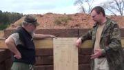تست  تفنگ خفیف در 400 متر