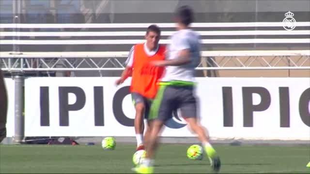 اولین تمرین کواچیچ در رئال مادرید