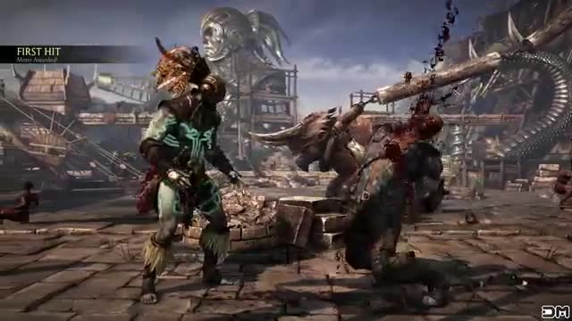 Kotal kahn Sawed off brutality on all characters