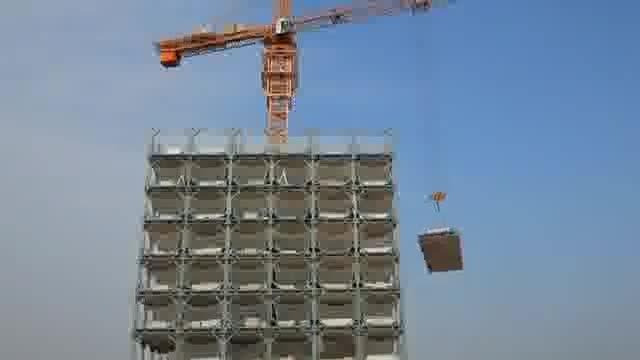 آیتیلاگز: ساخت هتل 30 طبقه در 15 روز / روزی دو طبقه