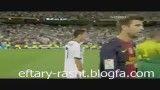 دست ندادن لیونل مسی با کریس رونالدو از شدت عصبانیت