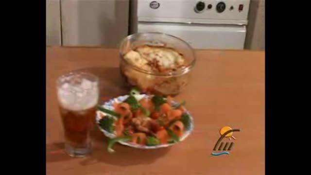 طرز تهیه غذای موساکا