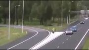تصادف پلیس در عملیات